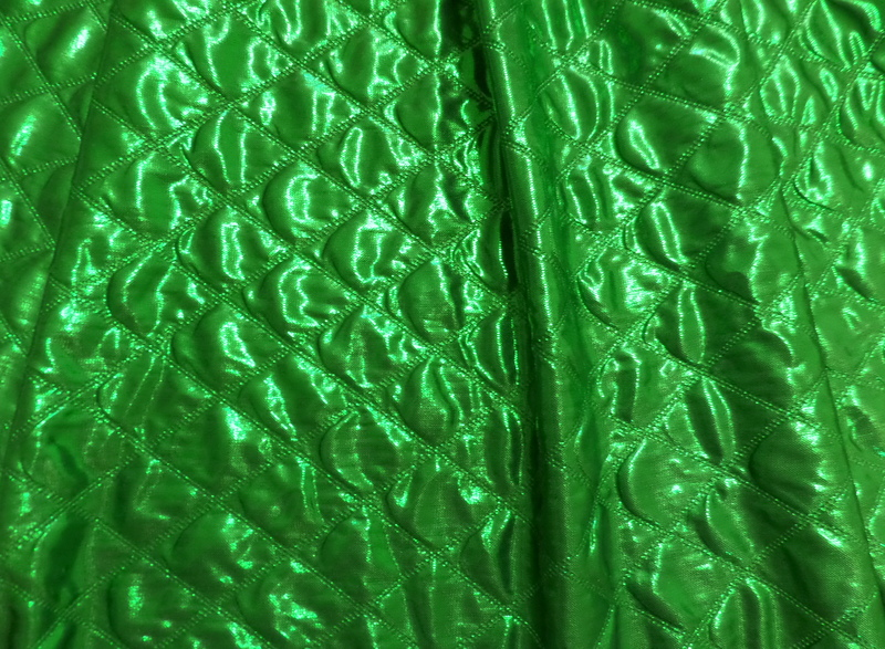 1. Kelly Quilted Foil