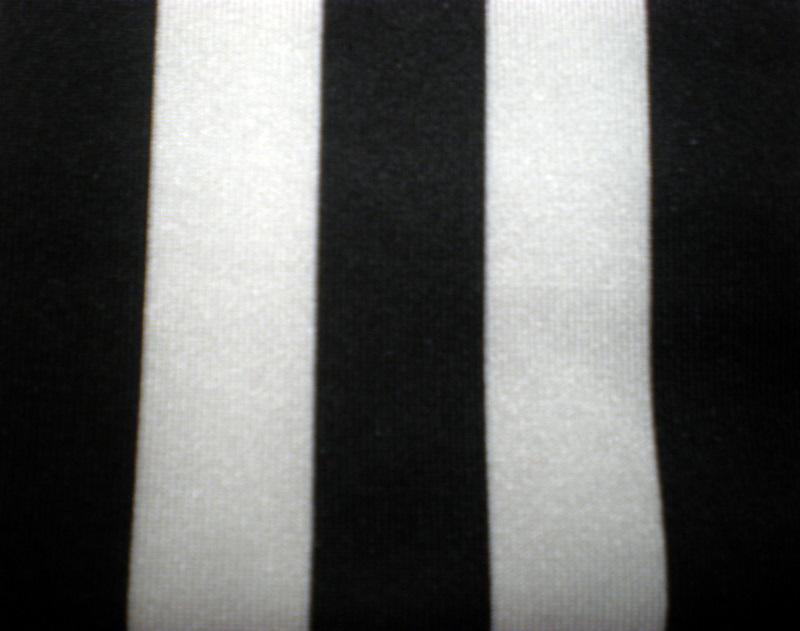 "1. Black-White 1/2"" 4way Stripes"