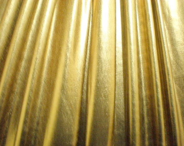 1. Gold Metal Lame 4Way Stretch