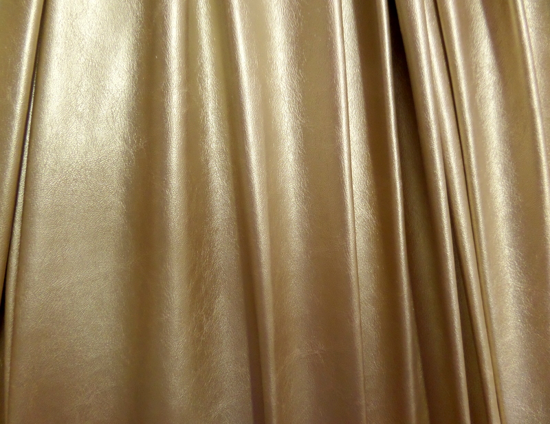 1.Gold Fake Leather #3