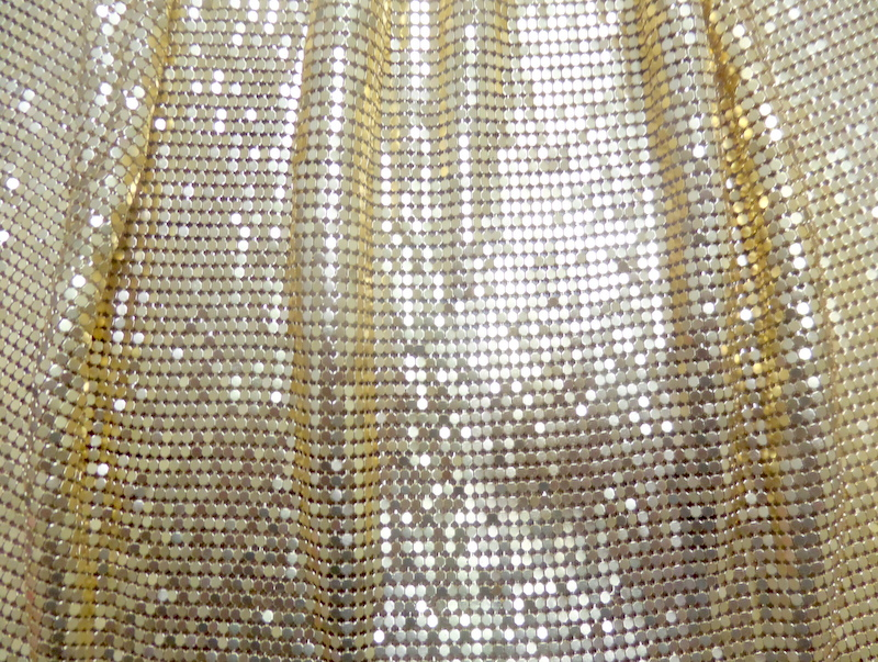 1.Gold Metal Chainmail
