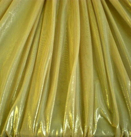 1. Gold Solid Metal Mesh