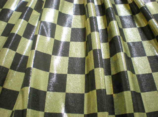 1.Gold-Black Misty Dot Checker
