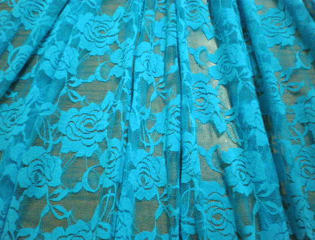 1.Turquoise Putul Flower Lace