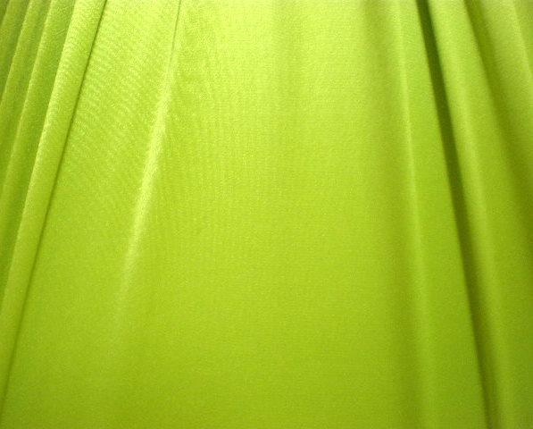 10.Lime Stretch Satin 2