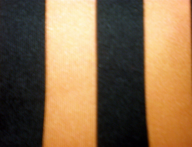 "11.Orange-Black 1/2"" 4Way Stripes"