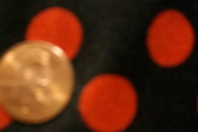 11.Black-Red Polka Dot 4Way