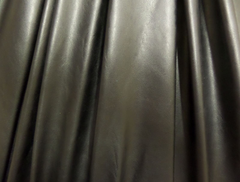 13. Black Metallic Matte Lame