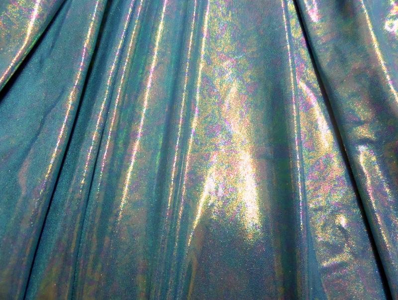 14.Turquoise Metallic Novelty #4