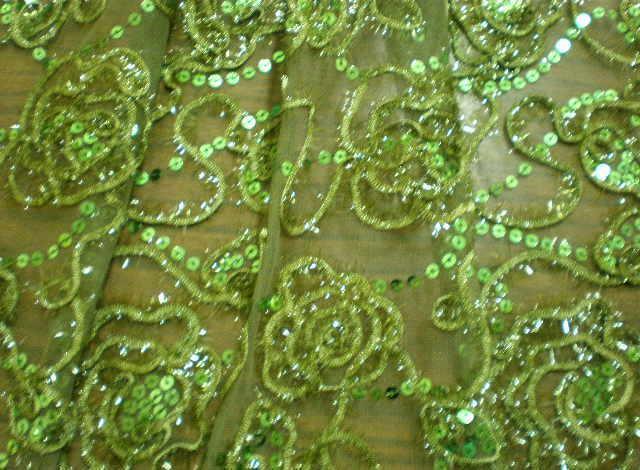14.Olive Novelty Sequins