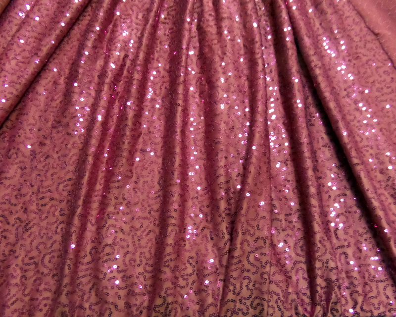 15.Berry-Fuchsia Glamour Sequins #1