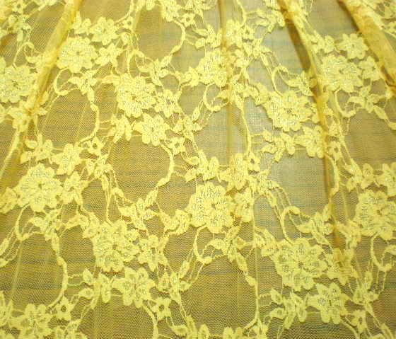 15.Yellow Variety Lace