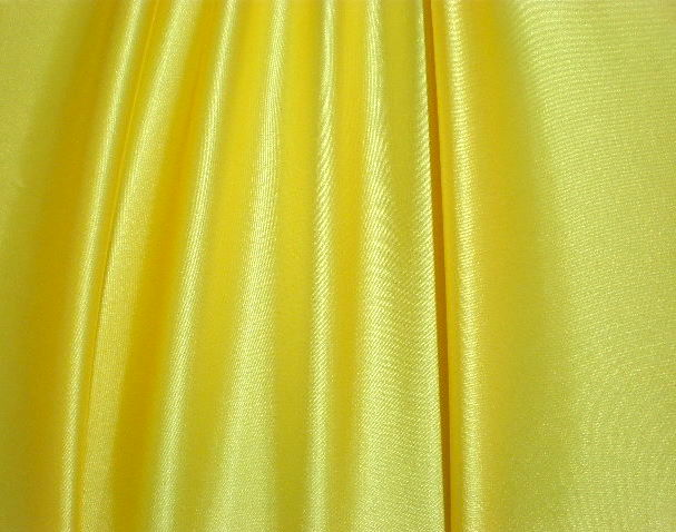 15.Yellow Stretch Charmeuse