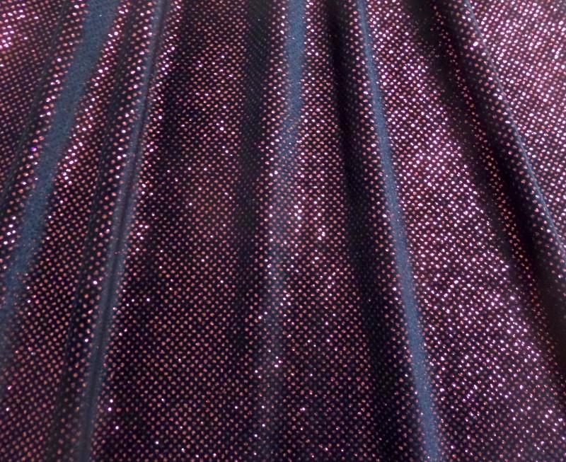 4.Red-Black Glitter Velvet#2
