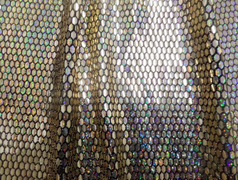 1.Gold Metallic Novelty #8