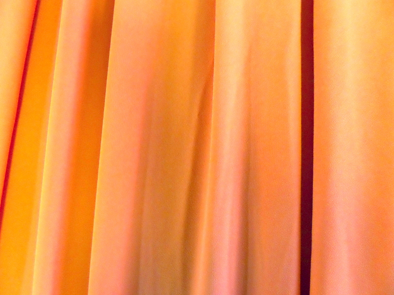 2.Coral Stretch Crepe