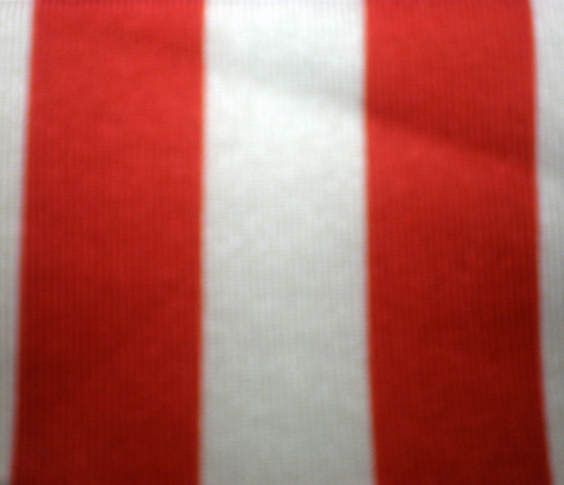 "2. Red-White 1/2"" 4Way Stripes"