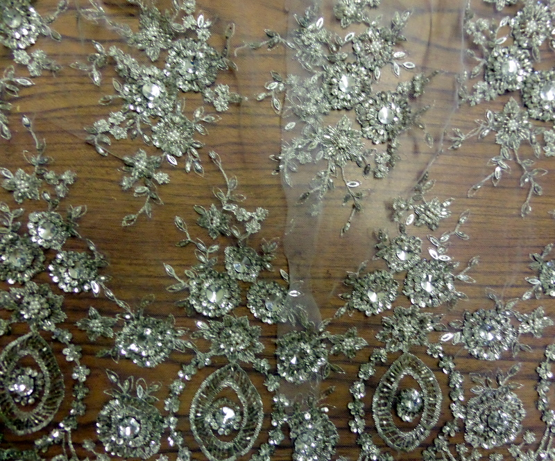 2.Silver Beaded Lace SP