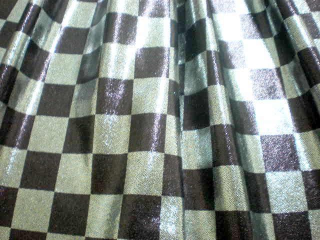 2.Silver-Black misty Dot Checker
