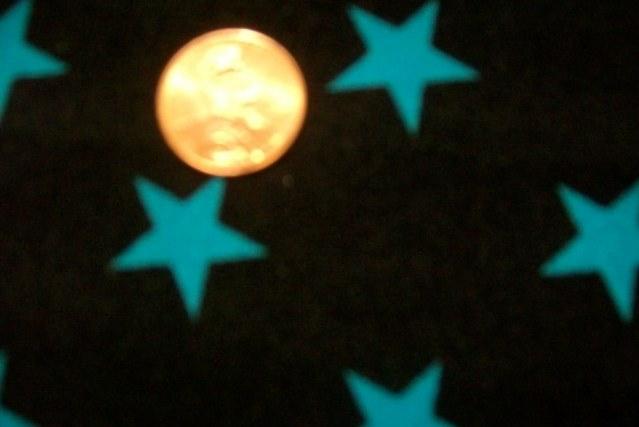 2.Black-Turquiose Shiny Star