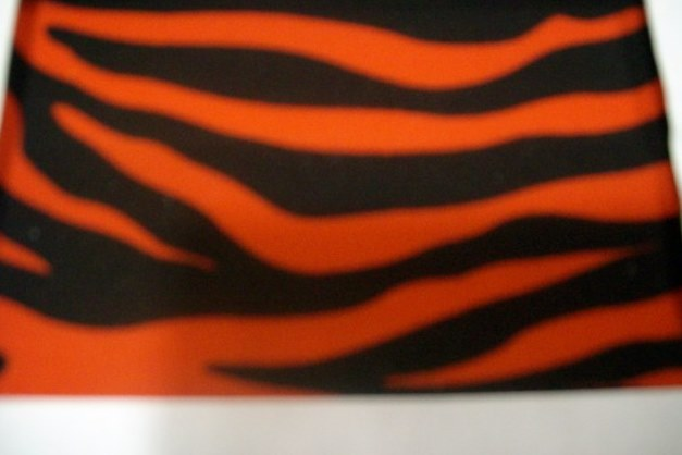 2. Red-Black Zebra Animal Print