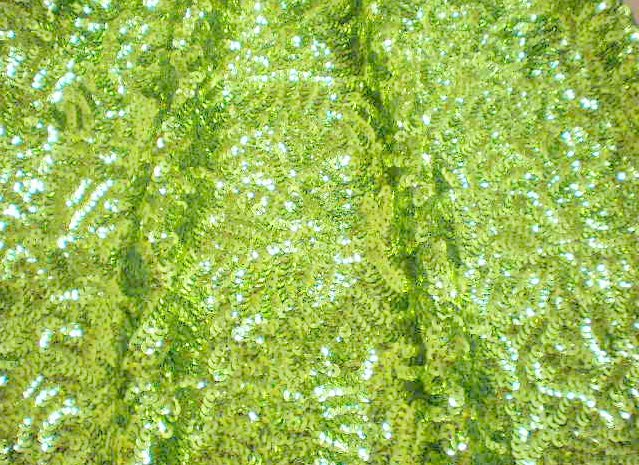 3.Lime Stretch Charmeuse