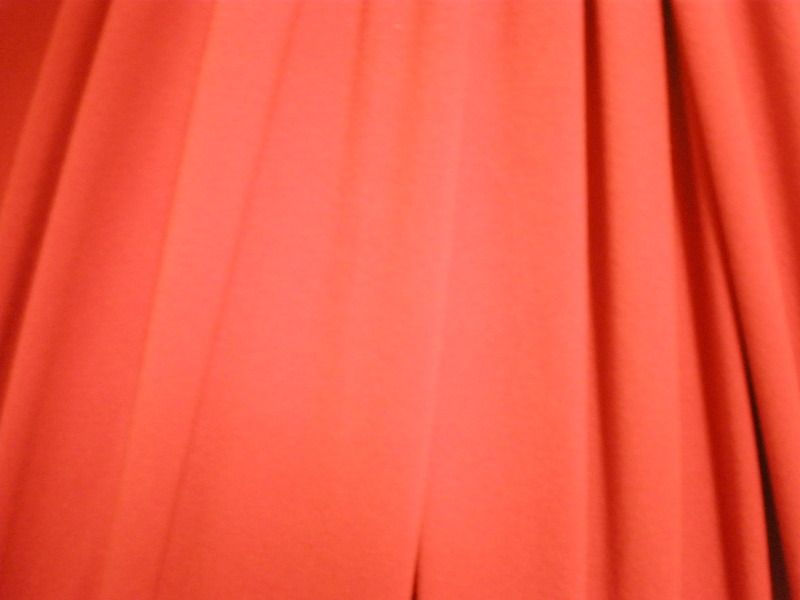 3.Red Brushed Spandex