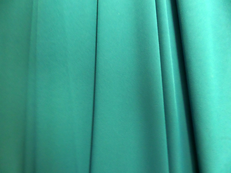 3.Teal Stretch Crepe