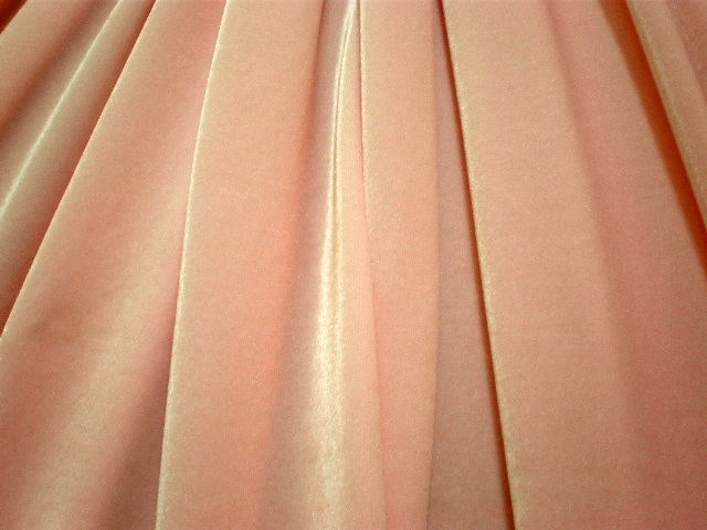 3. Baby Pink Smooth Velvet