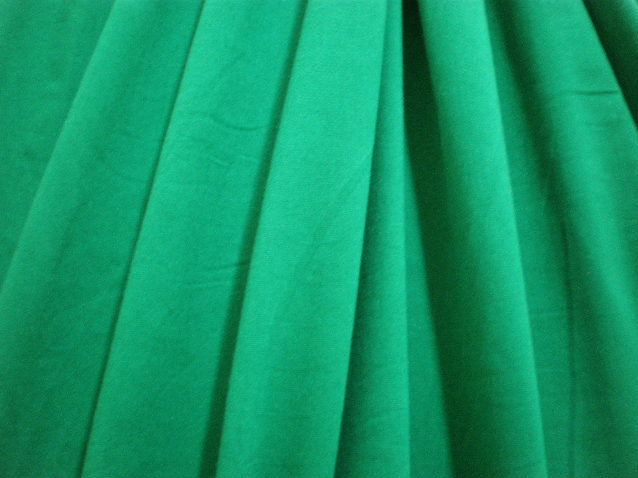 3.Kelly Green Cotton Spandex