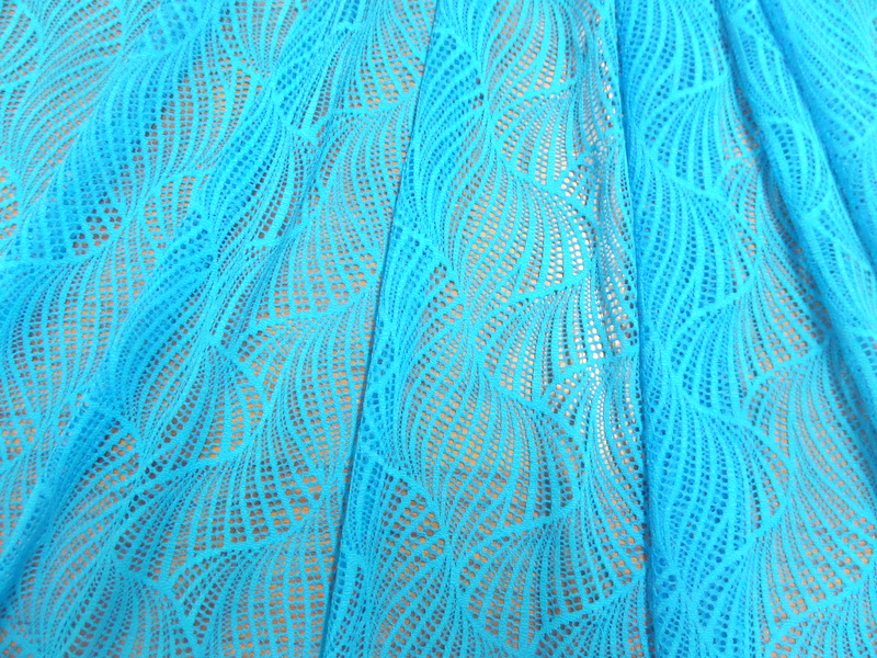 4.Turquoise Twister Lace