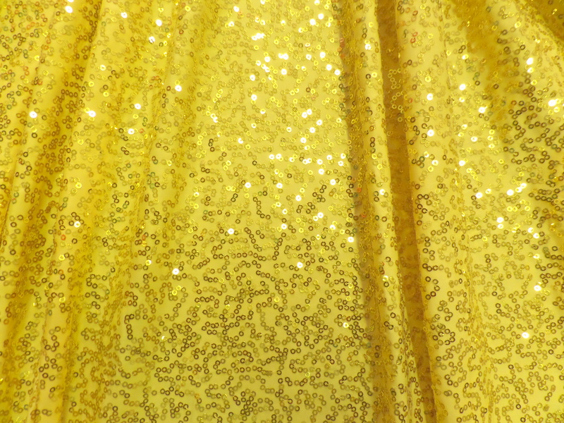 4.Yellow-Gold Glamour Sequins#1