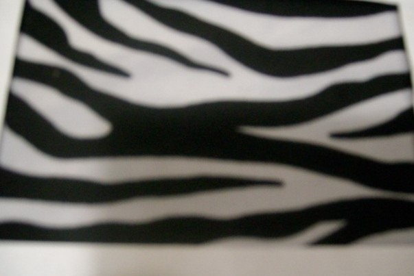 4.  Black-White Zebra Animal Print