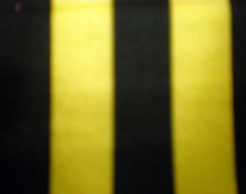 "5.Yellow-Black 1/2"" 4Way Stripes"