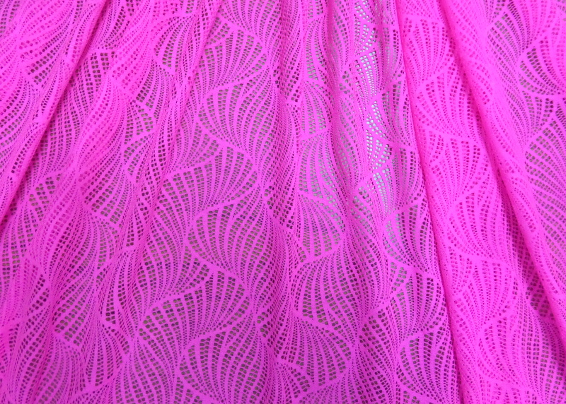 6.N. Pink Twister Lace
