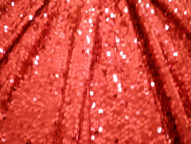 6.Red-Red Dazzle Sequins