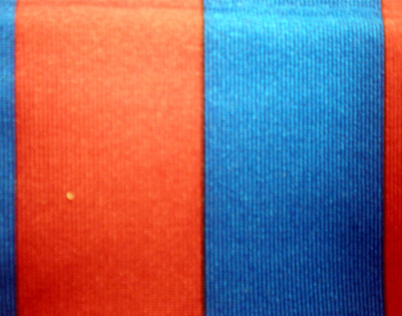 "6. Red-Royal 1""  Stripes 4Way"