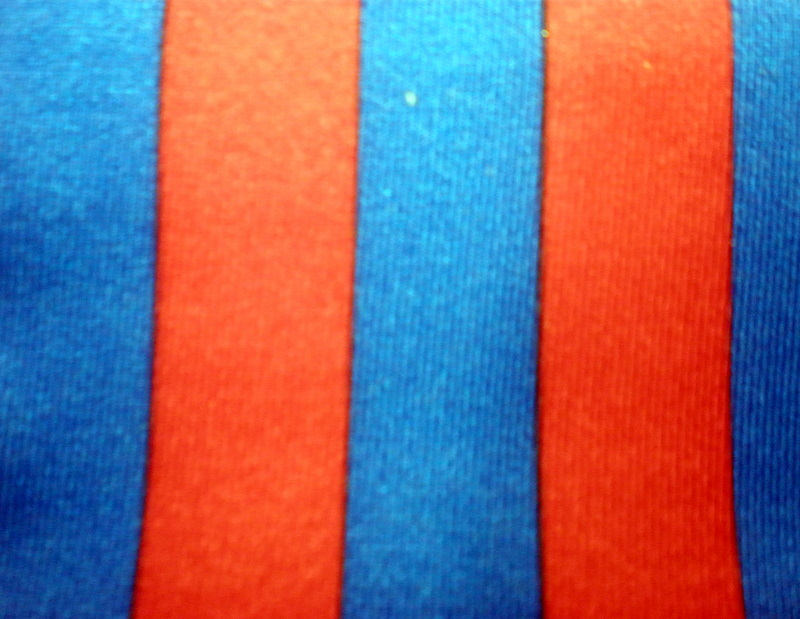 "6. Red-Royal 1/2"" 4Way Stripes"