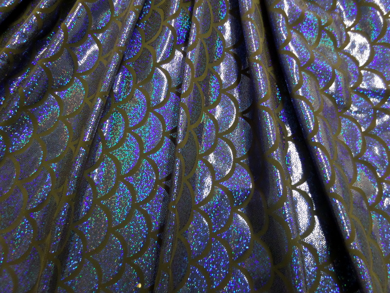 6.Royal Fish Scale Hologram