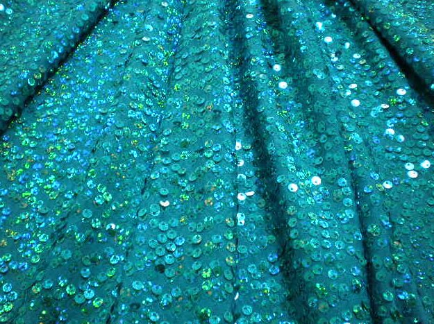 7.Turquoise-Turquoise Dazzle Sequins
