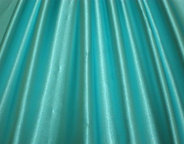 8.Aquamarine Stretch Charmeuse