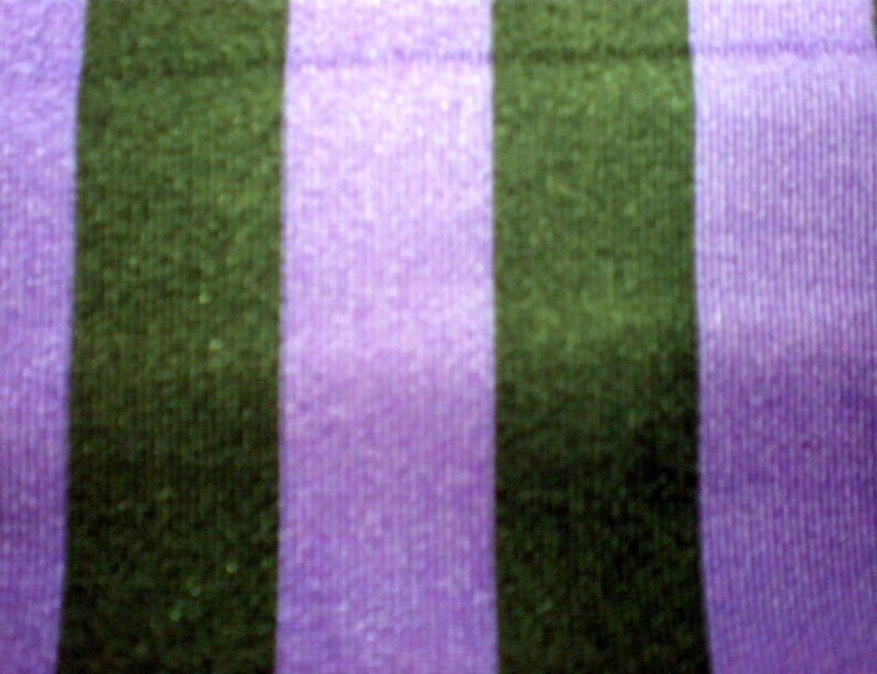 "9.Purple-Black 1/2"" 4Way Stripes"