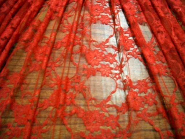 9.Red Variety Lace