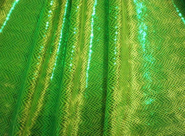 6.Lime Metallic Novelty #3(velvet)