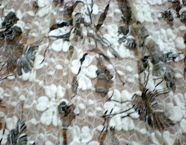5.White-Black Tie Dye Lace