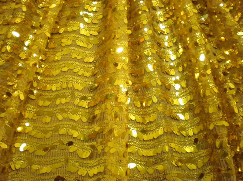 1.B. Gold Vegas Sequins #3