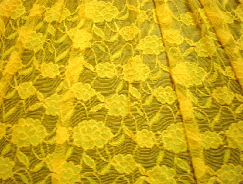1.Yellow Romance Flower Lace#2