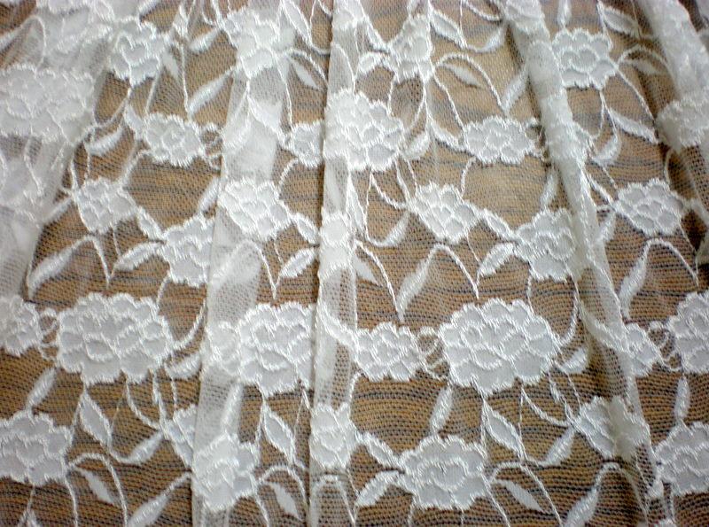 2.White Romance Flower Lace#2