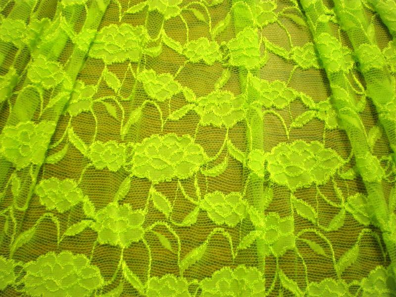 4.Lime Romance Flower Lace#2