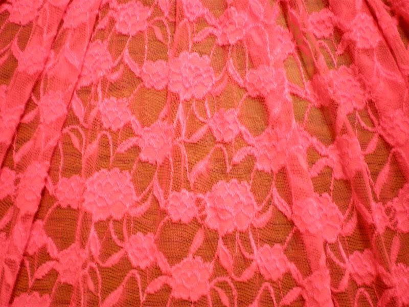 5.Fuchsia Romance Flower Lace #2
